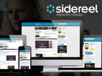 SideReel Responsive Redesign