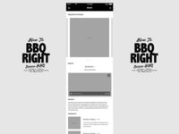 Responsive Mobile Wireframe