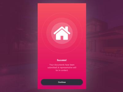 Mobile Success Screen
