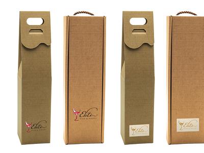 Eco coffee brand opakowanie brand identity branding design ecology wine cardboard craf eco