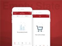 K&L Wines Store App Empty State
