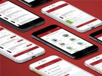 K&L Wines Staff App Screens