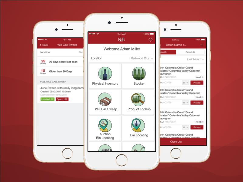 K l wines staff app 2