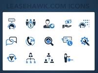 LeaseHawk.com Icons