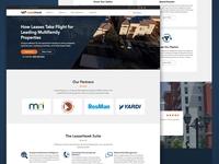 LeaseHawk.com Landing Page