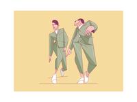 Green Suit Guys