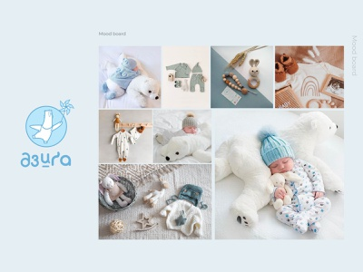 """Logo for children's clothing brand """"Dziga"""". Рart 3 vector logotype moodboard baby clothes clothes identity character illustration typography branding logo graphic design"""