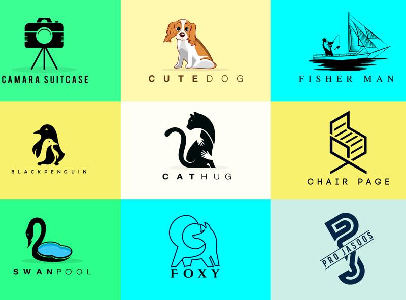 mini minimalist minimalist logo versatile versatile logo design versatile logo 3d mockup vector logo illustration design branding