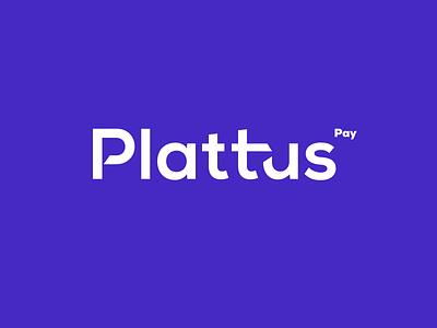 Plattus - Logo desing. font plattus logo