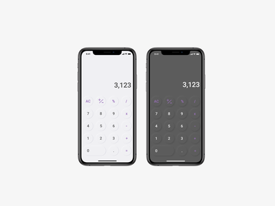 Calculator UI design ux ui calculator calculator ui
