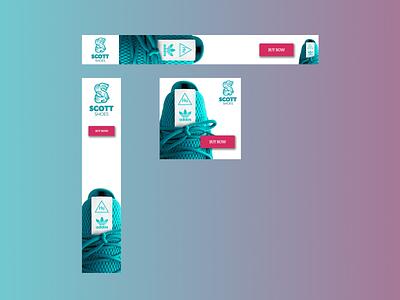 Banner Ads (Photoshop Practice) design socialmedia banner ads photoshop editing