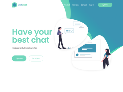 Design ChatApp uiux dailyui ux ui design