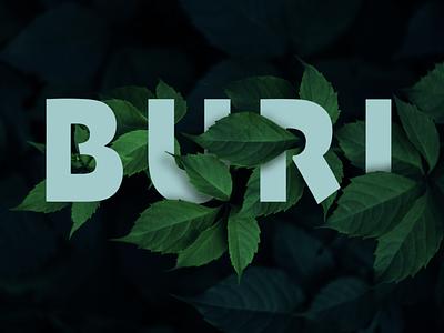Text leaf interaction adobe photoshop design