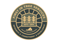 First In Tree Svc Badge
