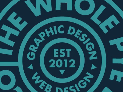 The Whole Pye Design Co. Badge