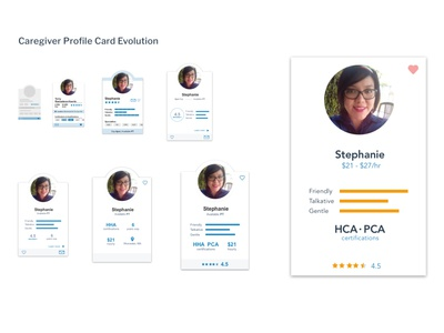 Profile Card Evolution