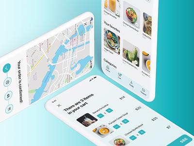 Food ordering app design mobile app uiux ui figma