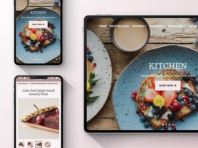 Online store website design online store web design uiux ui figma