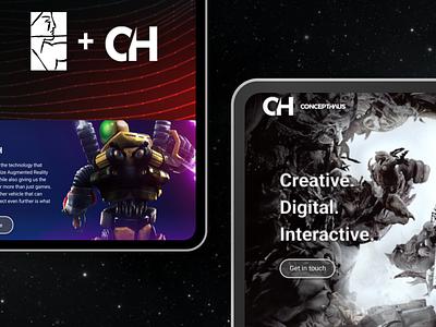 Creative agency website redesign web design wix figma