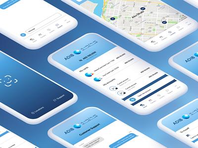 Banking mobile app redesign - UI/UX ui uiux ui ux design figma mobile app ui ux