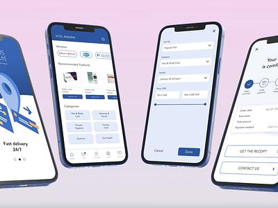 Mobile app design figma ui ux mockup uiux design ui mobile app design mobile app