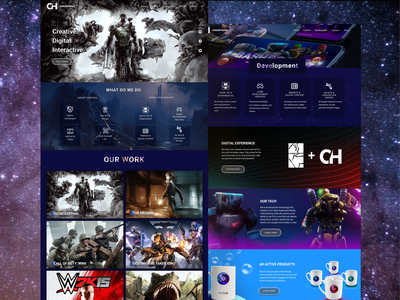 Agency website redesign website web ui ux mockup web design uiux design ui figma
