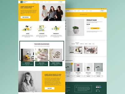 Marketplace for women website design website web ui ux web design uiux mockup design ui figma