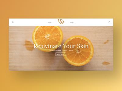 Vshop Luxury Beauty Website Design web design ui ux design mockup uiux ui figma