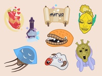 Morrowind sticker pack