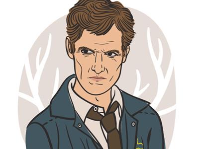 Rust Cohle illustration true detective rust cohle