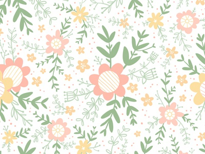 Floral pattern flowers pattern