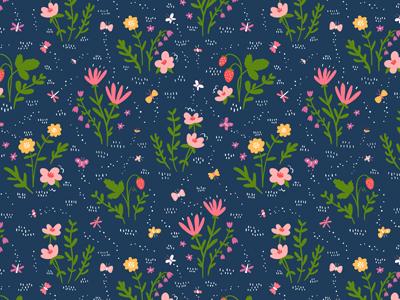 Into The Field flowers pattern