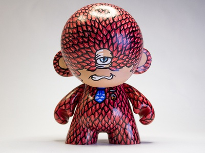 Yeticlops Custom Munny