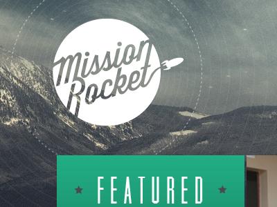 Mission rocket logo