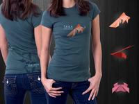 Taka Sushi T-shirt Design
