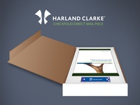 Harland Clarke Direct Mail Mockup
