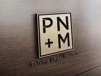 PNM Law Logo Design