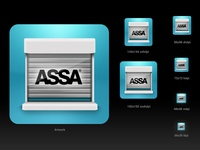 Assa Abloy Android Icon Design