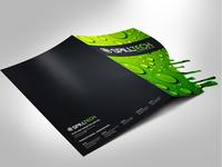 Spill Tech Die Cut Folder Concept