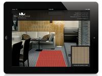 Augmented Reality floor visualizer App UI