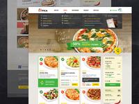 Chili pizza website
