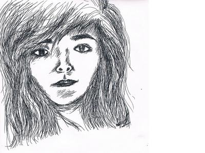 Leo girl drawing drawing girl