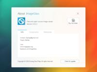 ImageGlass - About Dialog