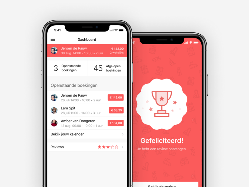 Iemand design ux ios iphone app ui