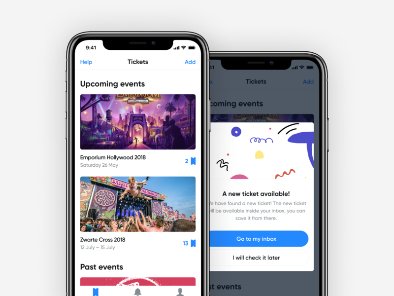 Ticketshare design ux ios iphone app ui