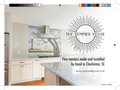 """5x7"""" Postcard for The Summer House print design indesign graphic design summer house"""