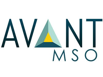 Avant MSO logo branding logo green graphic design illustrator