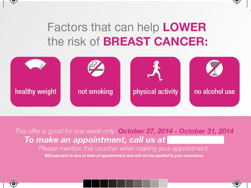 Breast Cancer Handout by Jonathan Fann - Dribbble