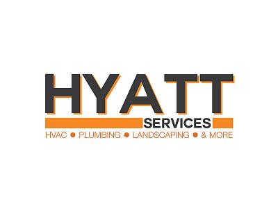 Hyatt Services Logo logo graphic design branding