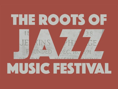 Roots Of Jazz #Throwback just for fun graphic design